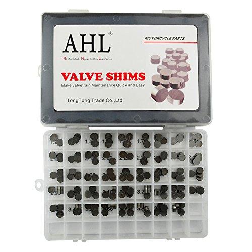 AHL Adjustable Valve Shim Kit 948mm OD 120mm-400mm Thick for Suzuki GSX-R750GSX-R1100 1991-1992 176pcs