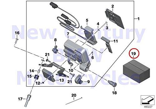 BMW Genuine Motorcycle Lock Cylinder Repair Kit A15 R1200GS R1200GS Adventure R1200RT R900RT R1200R R1200ST R1200S K1200S K1300S HP4 K1200R K1200R Sport K1300R K1200GT K1300GT S1000RR S1000R K1600GT K