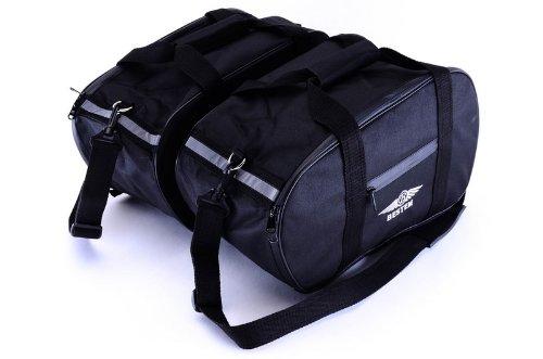 Bestem LGBM-K12GT-SDL Black Saddlebag Sideliners for BMW R1100RK1200RS R1100GS1200GTR850R Pair