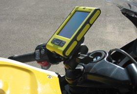 MV Verholen BMW K1200S K1200R K1300S K1300R Black GPS Ball Mount
