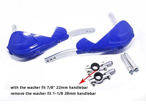 Aluminum Hand Guard Handguard Brush Bar Protector for Yamaha YZ125 YZ250 YZ250F YZ450F Dirt Pit Bike