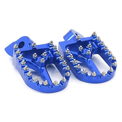 JFG RACING CNC Foot Pegs Rest Pedal Footpegs For Yamaha YZ85 YZ125 YZ250 YZ250 YZ450F WR250 WR450F