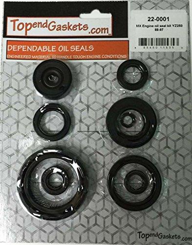 NEW 9pc Engine Oil Seal Kit – Fits Yamaha YZ250 YZ 250 1988-1997 CRANK PN220001