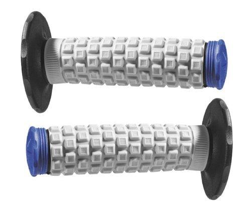 Black Grey Blue Pro Taper Handlebar Hand Grips and Free Sticker Fits Yamaha Yz80 Yz85 Yz125 Yz250 Yz465 Yz490 Yz250f Yz450 Yz400 Yz426 Wr250 Wr450 Ttr125 Ttr230 Ttr90 Ttr110 Pw80 Rt100 Rt180 1981-2014