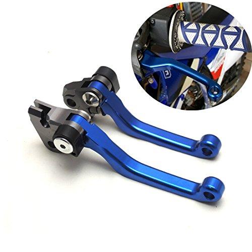 CNC Pivot Brake Clutch Lever for Yamaha YZ125250 2001-2007 YZ250F 2001-2006 YZ426F450F 2001-2007 KAWASAKI KX125250 2006-2008 KAWASAKI KX250F450F 2006-2012