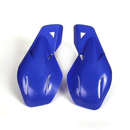 JFG RACING Blue Motocross Plastic Handguards 22mm and 28mm Universal Hand Guards For Yamaha YZ80 YZ85 YZ125 YZ250 YZ250F YZ400F YZ426F Dirt Bike Motorcycle MX Supermoto Racing ATV Quad KAYO