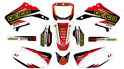 332 HONDA CR 125-250 2002-2003 DECALS STICKERS GRAPHICS KIT