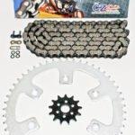 1987-2003 Honda CR125 CZ ORH X Ring Chain And Sprocket 1252 120L