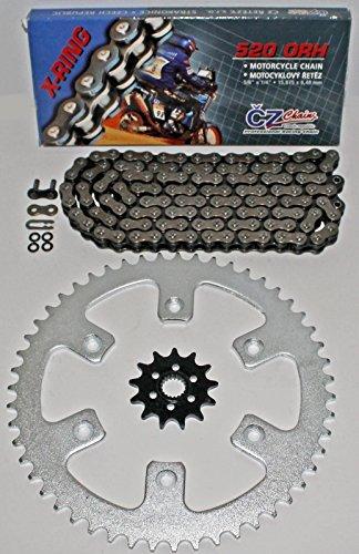 1987-2003 Honda CR125 CZ ORH X Ring Chain And Sprocket 1348 114L