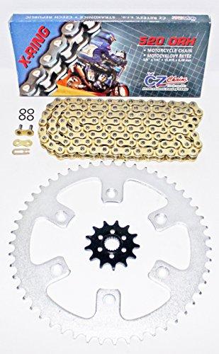 1987-2003 Honda CR125 CZ ORHG Gold X Ring Chain Sprocket 1350 114L