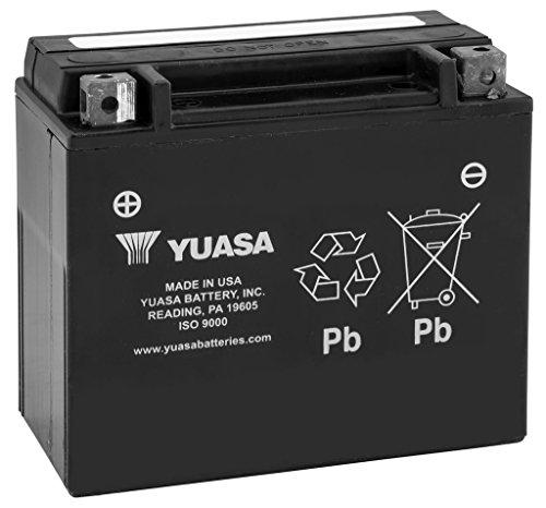 New Yuasa Maintenance Free Motorcycle Battery - 1993-2016 Honda XR650L
