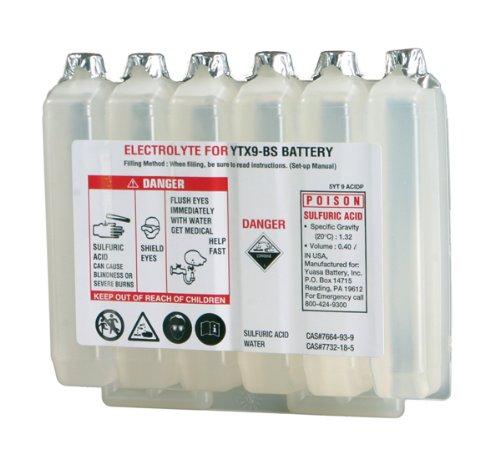 Yuasa Acid for Maintenance-Free Battery - YTX9-BS 5YT9ACIDP