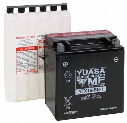 Yuasa YUAM32X61 YTX16-BS-1 Battery