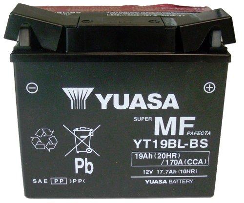 Yuasa YUAM6219BL YT19BL-BS Sealed Battery