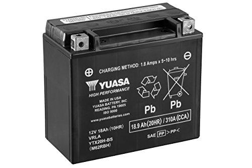 Yuasa YUAM62RBH YTX20H-BS Battery