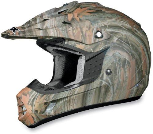 AFX FX-17 Unisex-Adult Off-Road-Helmet-Style Helmet Camo Multi X-Large