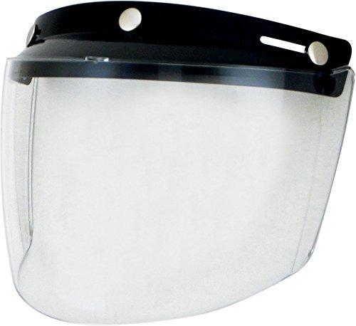 AFX Flip Three-Snap Visor - Clear 0131-0075