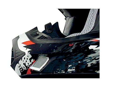 AFX Helmet Breath Guard for FX-90 - Black 0134-1060