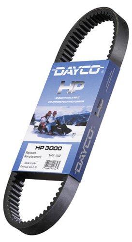 Dayco ATV HP High Performance Drive Belt - Arctic Cat Cross Country CatJohn Deere LiquidatorMercury Sno-Twister 250 1976  EXT 340440 1973  El Tigre 1975-1977  Jag 3000 FA 1977  Pantera 1971-179  Columbia SST400SST440 1972  John Deere Cros