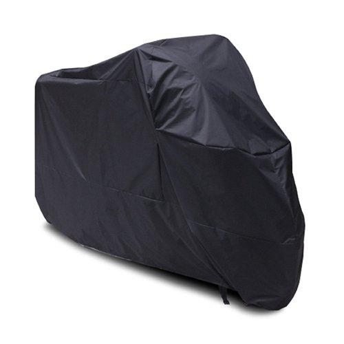 Black Motorcycle Cover For Harley davidson Sportster 1200c UV Dust Prevention L