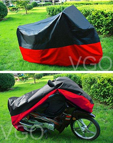 Motorcycle Cover For Harley davidson Sportster 1200c UV Dust Prevention L Black Red