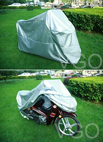Motorcycle Cover For Harley davidson Sportster 1200c UV Dust Prevention L Silver