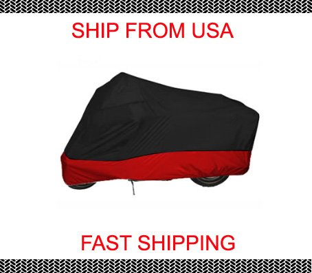 Red Black Motorcycle cover for Harley davidson Sportster 1200c XL