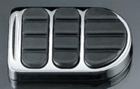 Kuryakyn ISO-Brake Pedal Pad - StandardChrome
