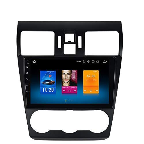 Dasaita Android 90 Car Stereo for Subaru Forester Stereo 2008 2009 2010 2011 2012 2013 2014 2015 2016 2017 2018 Radio with 9 Screen GPS Navigation Headunit Subaru Forester WRX 2013 to 2015