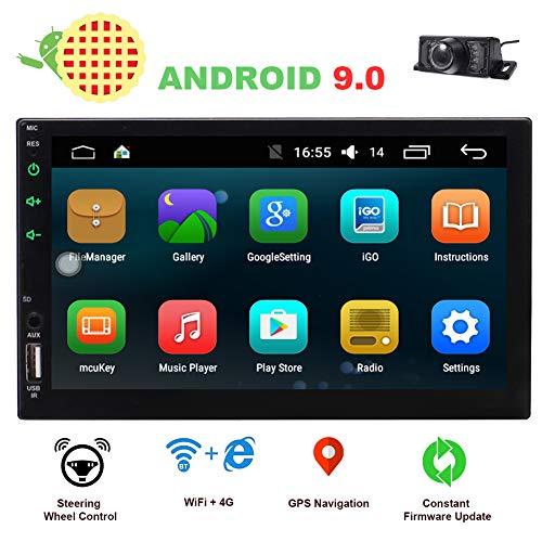 EINCAR 2 Din Car Stereo Touch Screen Car Radio Bluetooth Double Din Android 90 Car Player Head Unit GPS Navigation FMAM RDS Autoradio Video AUX WiFi Mirrorlink Remote Control Rear Camera