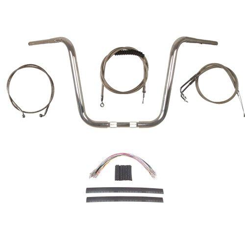1 14 Chrome Wild 1 14 Ape Hanger Handlebar Kit 2011-2015 Harley-Davidson Softail models with ABS brakes - BSC-0601-0780-ST11-ABS