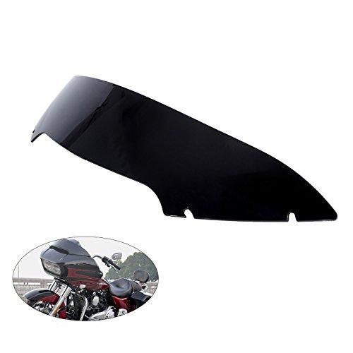 Motorcycle Wave 5 Windshield Windscreen Wind Shield Screen For Harley Touring Road Glide FLTRX Ultra FLTRU Special FLTRXS 2015-2017 Black