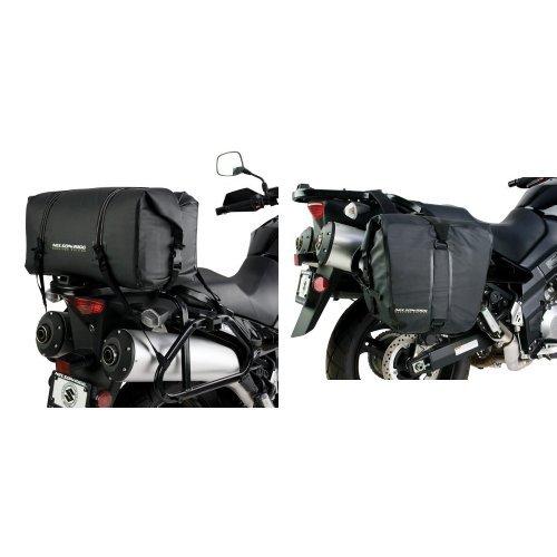 Nelson-Rigg SE-2005-BLK Black Medium Adventure Dry Bag and  SE-2050-BLK Black Adventure Dry Saddlebag Bundle