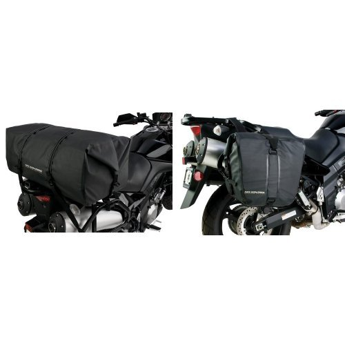 Nelson-Rigg SE-2020-BLK Black Large Adventure Dry Bag and  SE-2050-BLK Black Adventure Dry Saddlebag Bundle