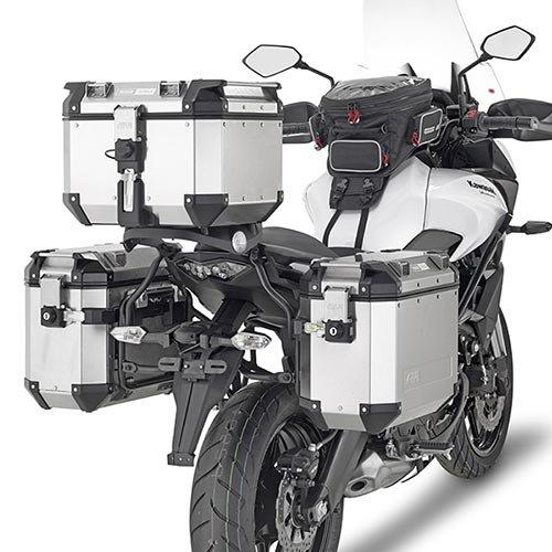 GIVI PL4114CAM Saddlebag Holder For TREKKER OUTBACK CASE - KAWASAKI VERSYS 650