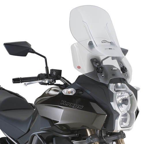 Givi AF4105 Airflow Adjustable Wind Screen - Kawasaki Versys 650 Versys 1000