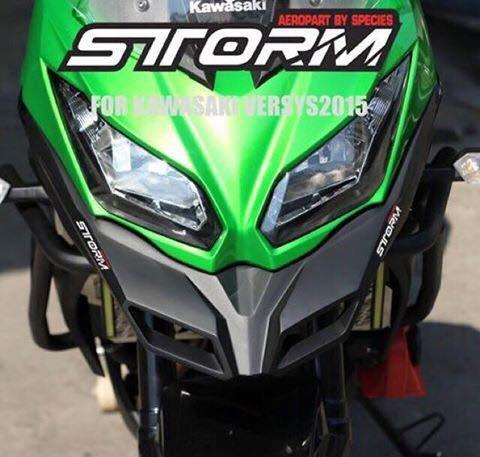 STORM AEROPART Front Beak Bird mouth for Kawasaki VERSYS 650 2015