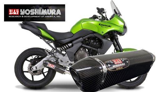 Yoshimura TRC-D Carbon Fiber Slip-on Exhaust System - Kawasaki Versys 650 2008-2011