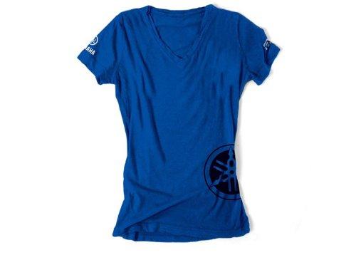 Factory Effex Womens YAMAHA T-Shirt Royal Large