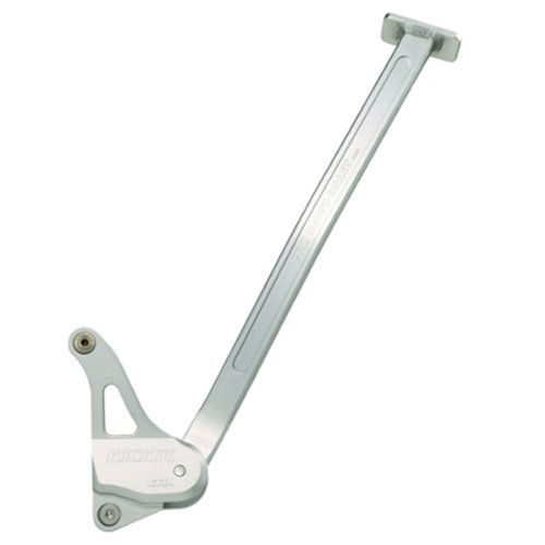 Pro Moto Billet PMB-01-1002 Silver Kick-It Kickstand