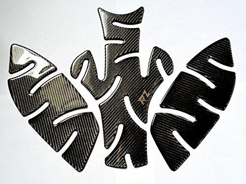 TRIUMPH STREET TRIPLE 675 R ABS Real Carbon Fiber Gas Tank PROTECTOR Pad  Knee pads grip trim Sticker