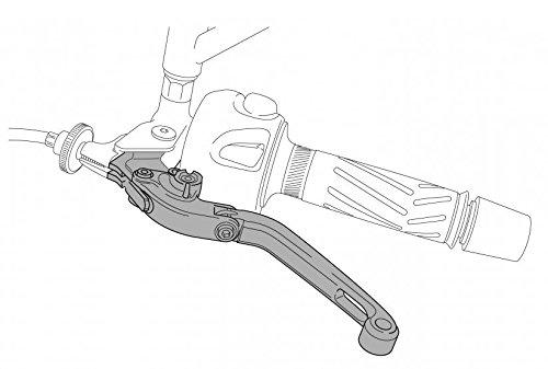 PUIG 7826N Adapter for Hi-Tech ExtendableFolding Clutch Lever - Black