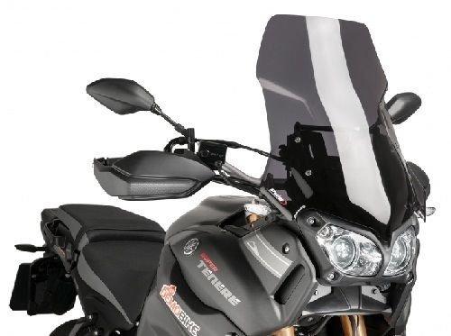 Puig Touring Windshield 2014 Yamaha XT1200Z Super Tenere Dark Smoke  7541F