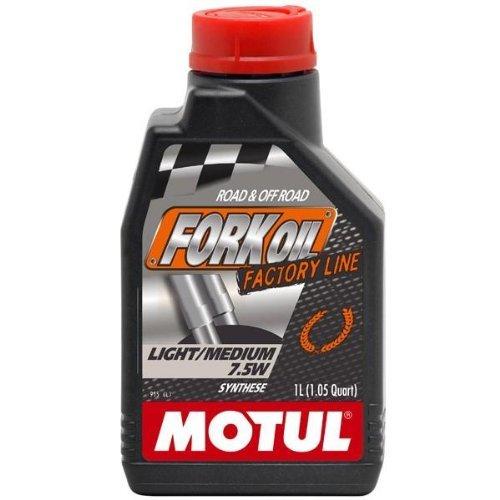 Motul 100 Synthetic Fork Oil - LightMedium 75-5 wt - 1 lt 821711  101127