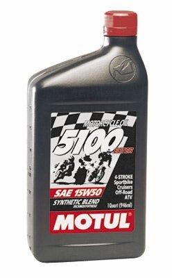 Motul 5100 4T Synthetic Ester Blend Motor Oil - 10W40 - 1qt 3081QTA