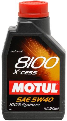 Motul 8100 5W40 X-cess 1L Pack of 2