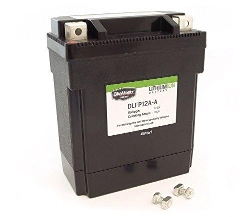 Bikemaster Lithium-Ion Battery - 12N12A-4A-1 YB12A-A YB12C-A YB12A-B Honda CB350F CB400F CB550 Kawasaki Yamaha