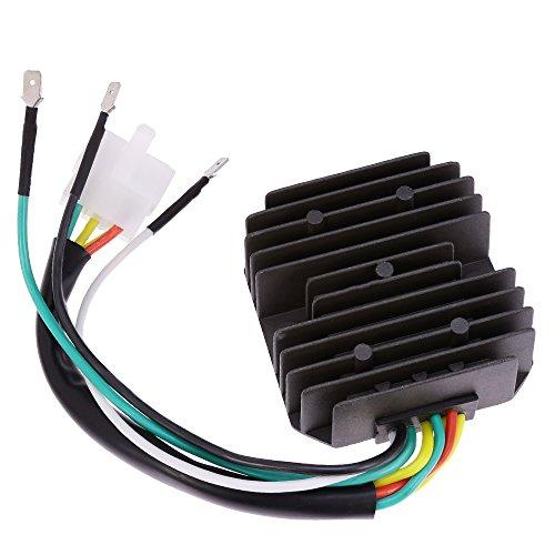 QUIOSS Voltage Regulator Rectifier 31700-333-008 31400-300-035 For 1969-1978 Honda CB350F CB400F CB500 CB550 CB750
