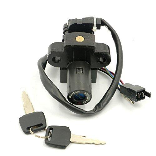 Alpha Rider Ignition Switch Lock Keys For Honda CBR1100XX VTR1000 1997-1998 VFR800 1998-1999 HONDA CBR600 F2 F3 F1 CBR750