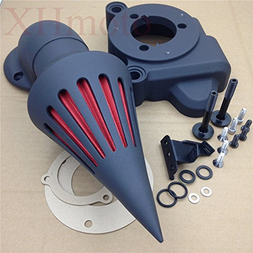Spike Air Cleaner Kits For 2014 Harley Davidson Road King Flhr Cvo Flhrse6 Black